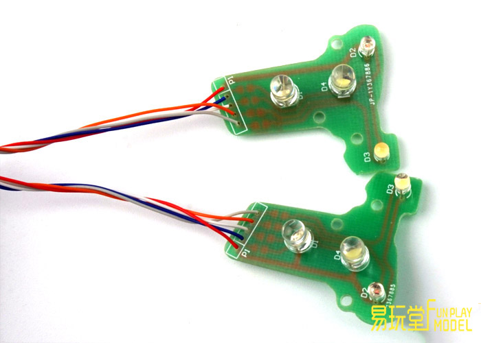 FUN PLAY MODEL  Benz AROCS 33483363  Circuit Board Integrated Lamp