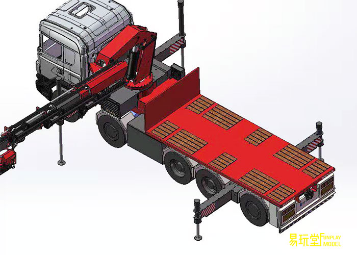 FUN PLAY MODEL  114 Universal  Pre-crane upper assembly kit