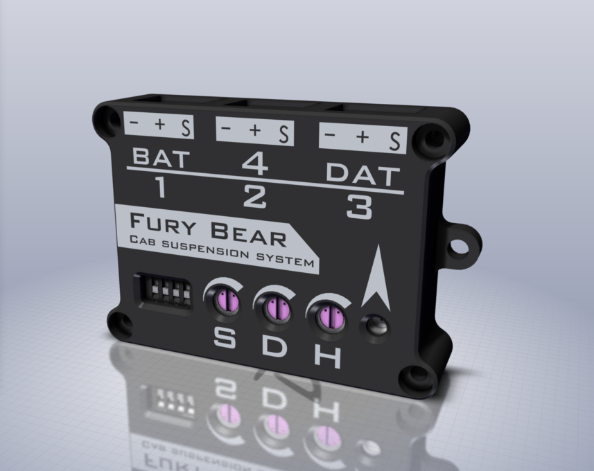 FURY BEAR  1/14 Universal  Electronic cab suspension kit
