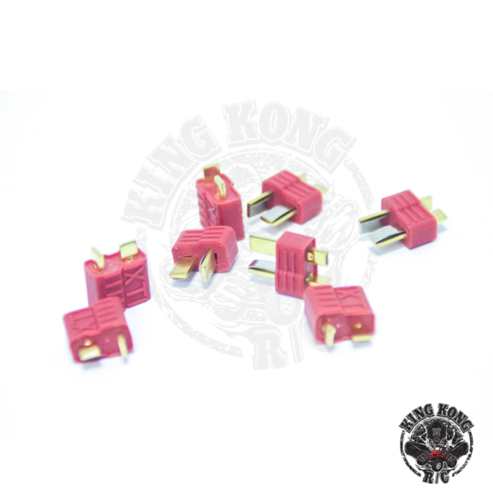 KINGKONG RC Universal basic parts T-plug butt socket male and female a pair of battery male and fema