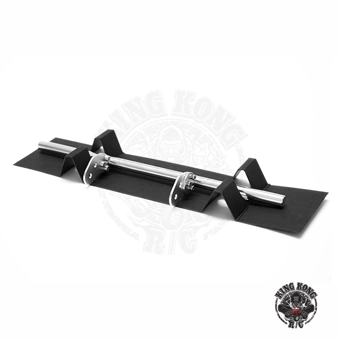 KINGKONG RC 1:14Universal Front and rear anti-collision railing winch series  Metal tow end bumper