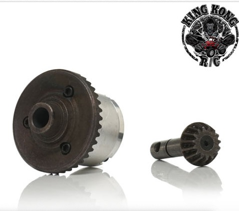 KINGKONG RC 1:14Universal basic parts Differential umbrella gear