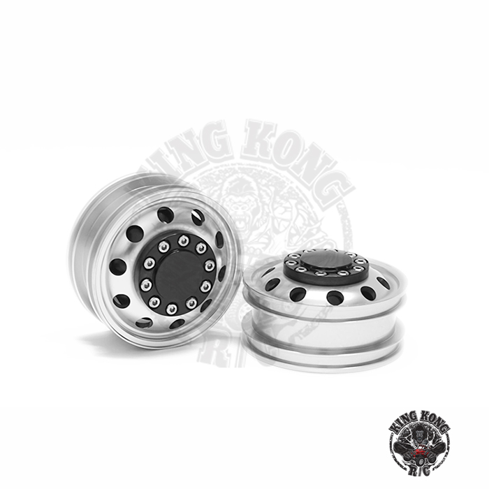 KINGKONG RC 1:14Universal Hub Series Simulation Metal front hub