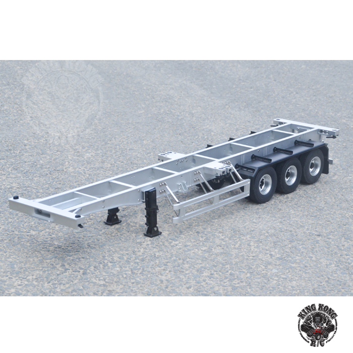 KINGKONG RC 1:14Universal  Trailer dragging 40 feet simulation of all metal container towing