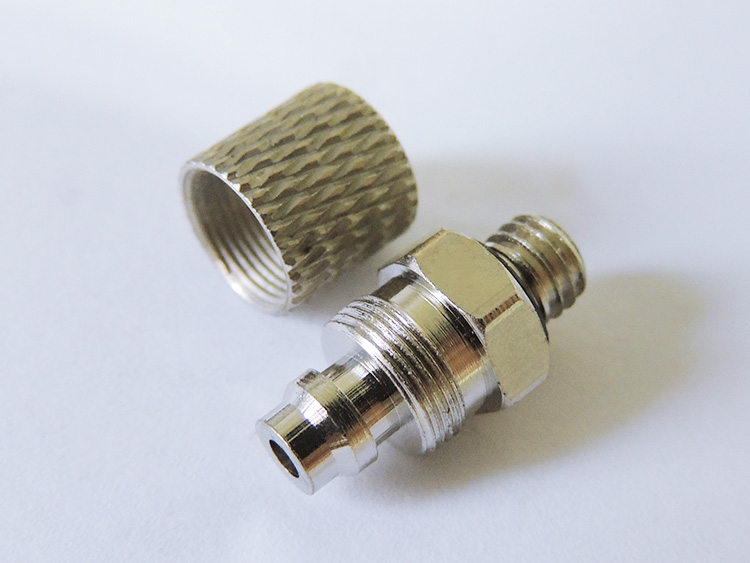 JD model M5-4 nozzle, direct head hydraulic joint, hydraulic joint, connect 4MM pipe