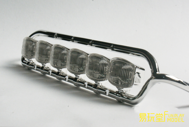 LESE MODEL 1:14Universal Electroplated spot light scania roof light
