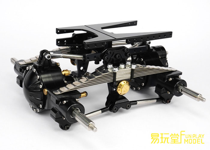 LESE MODEL 1:16Universal Trailer RC rear axle suspension