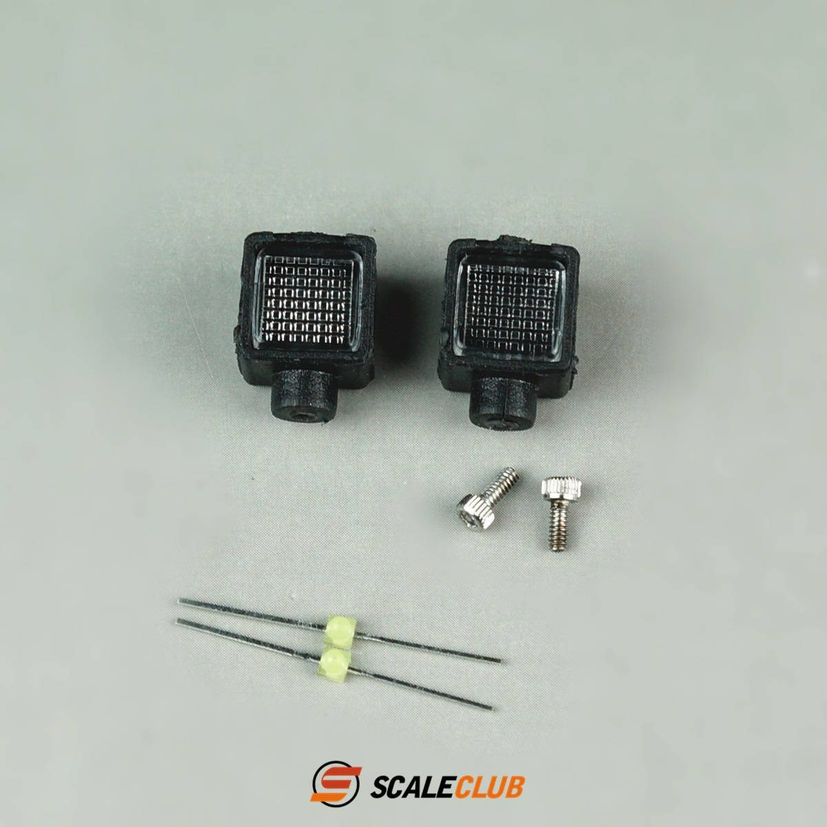 SCALECLUB  1/14 Universal  Small square lamp for cross-country climbing