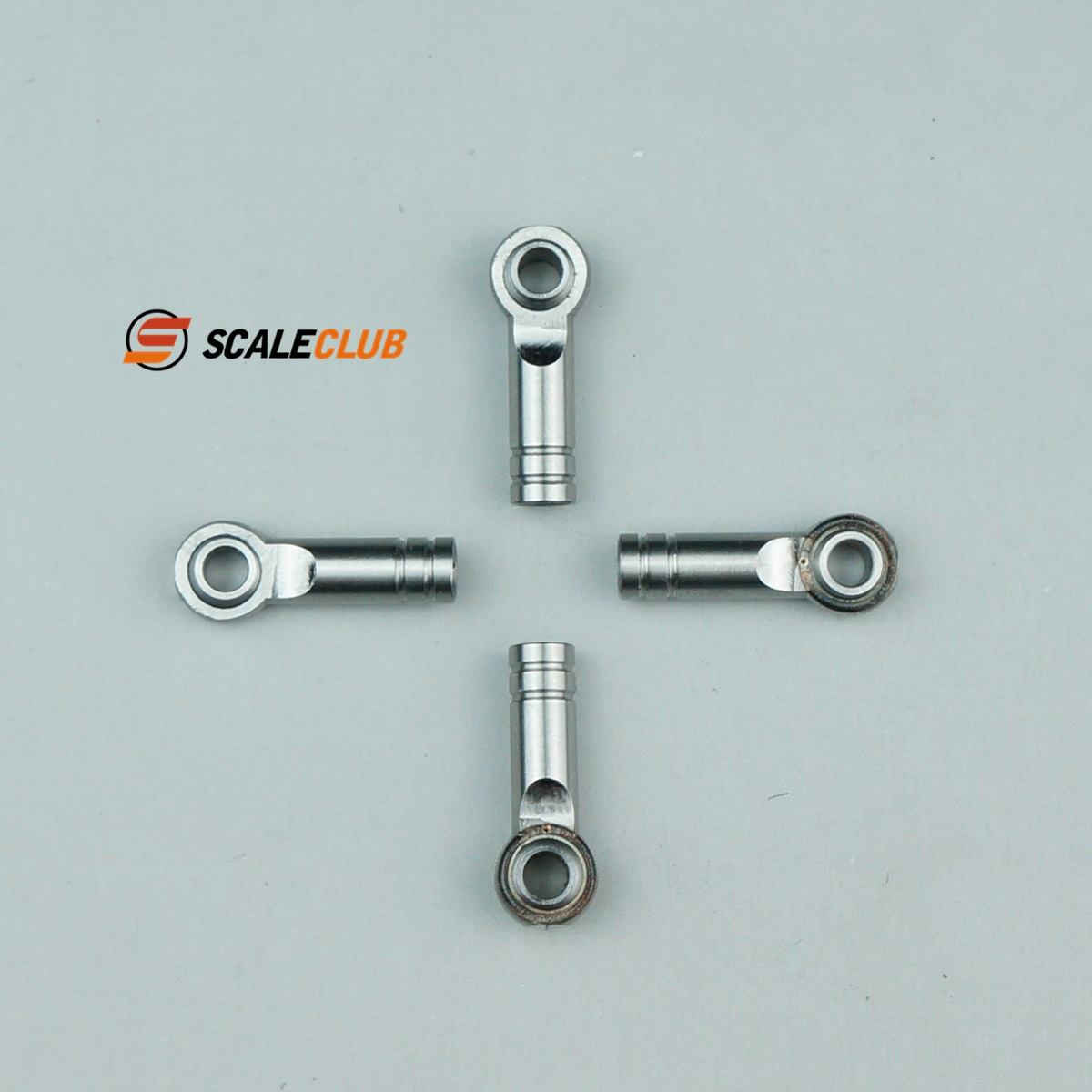 SCALECLUB  1/14 Universal  Fisheye bearing with tie rod