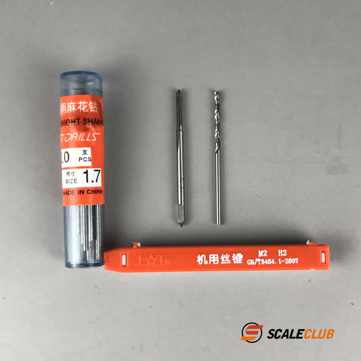 SCALECLUB  1/14 Universal  Tapping suit for drill bit