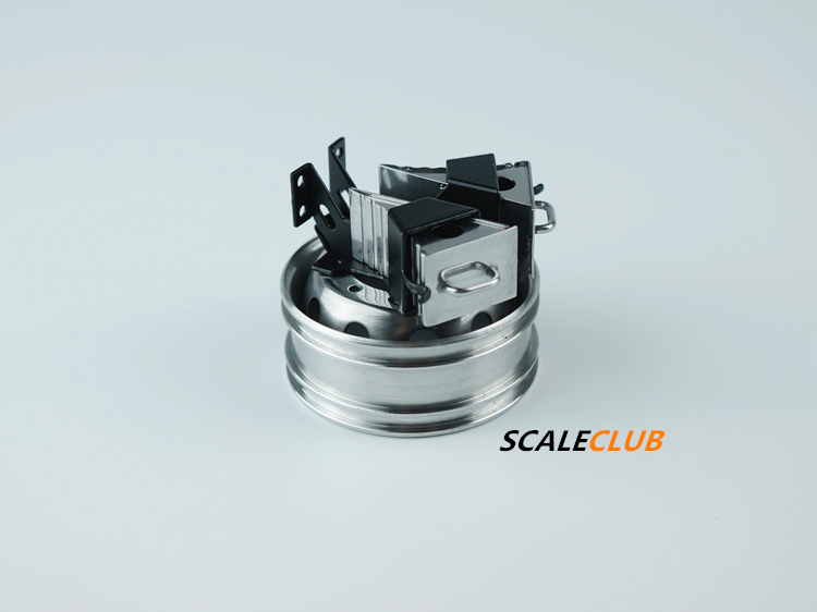 SCALECLUB  1/14 Universal  Metal spare wheel mount skid stop