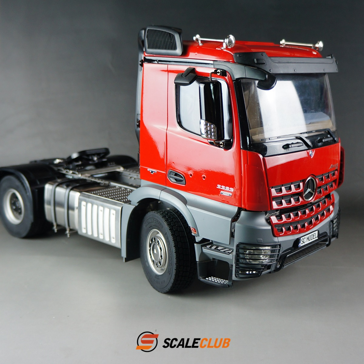 SCALECLUB  Benz ACTROS 3363/1851  Metal 4x4 or 4x2 Chassis