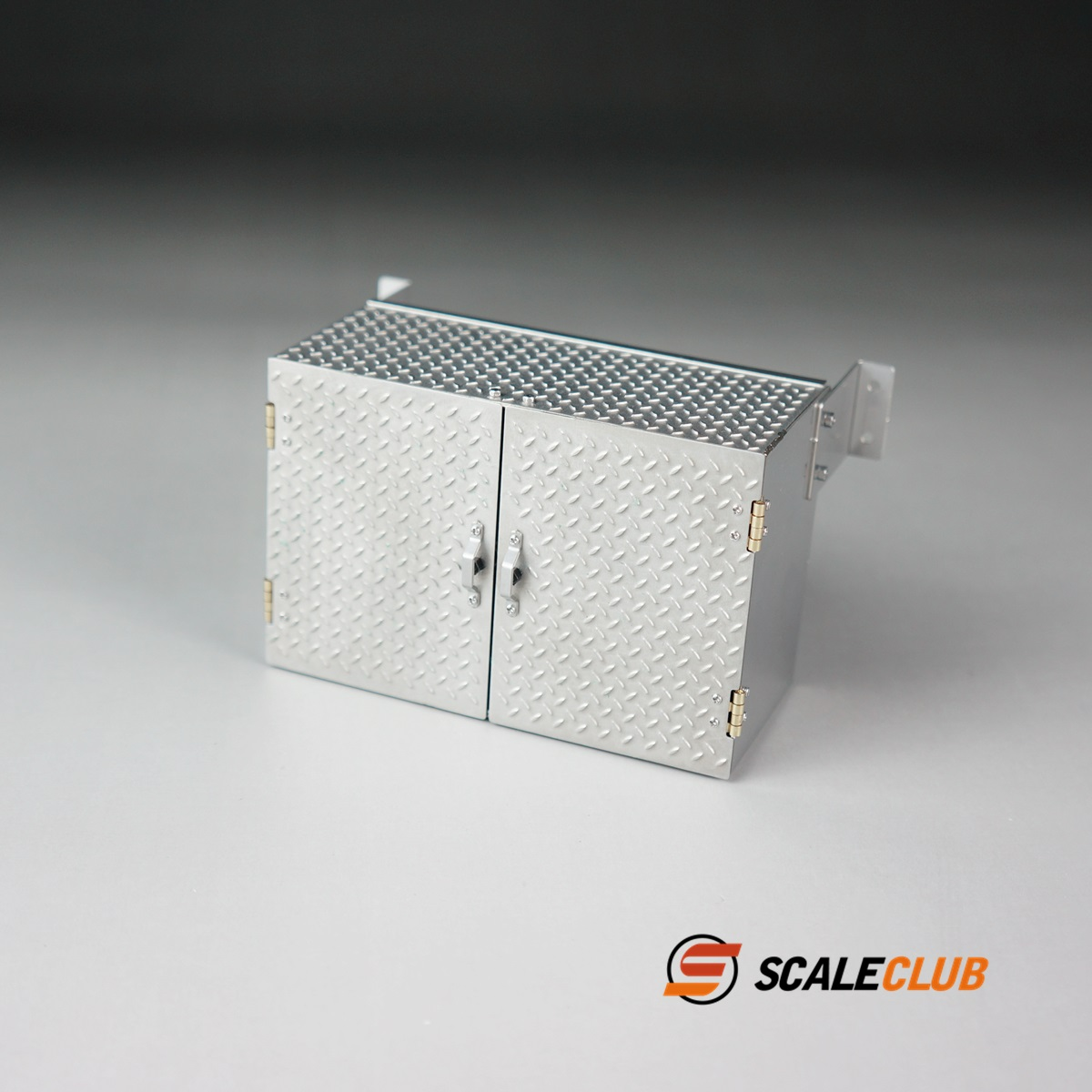 SCALECLUB  1/14 Universal  90 mm Toolbox with Anti-skid Stripe on Metal Belt