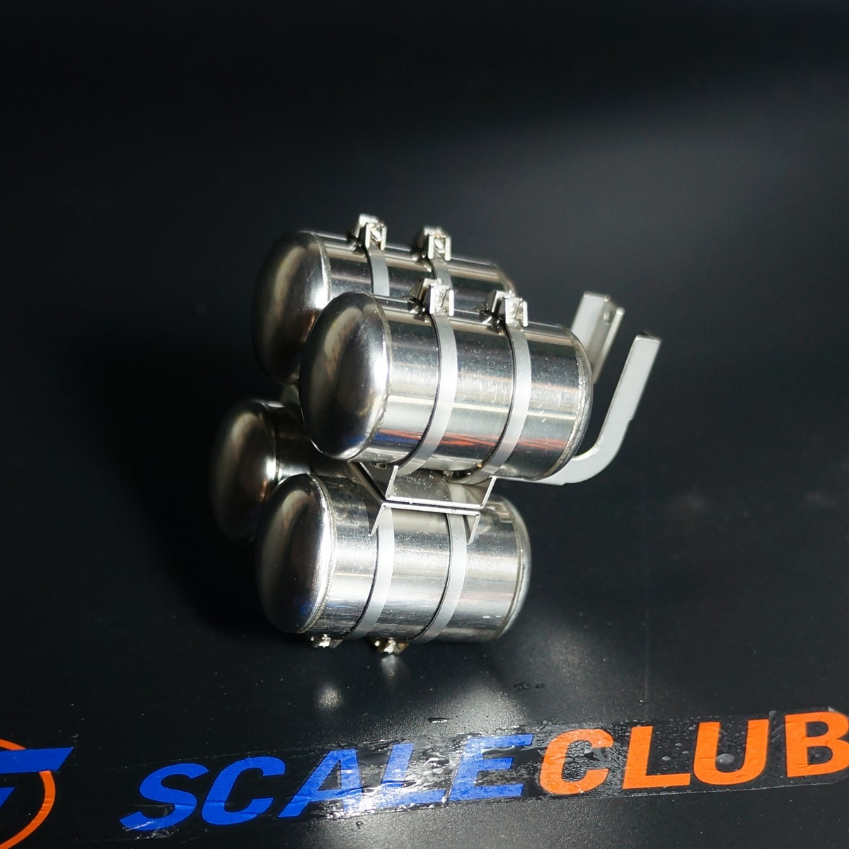SCALECLUB  1/14 Universal  Upgrade metal four gas tank