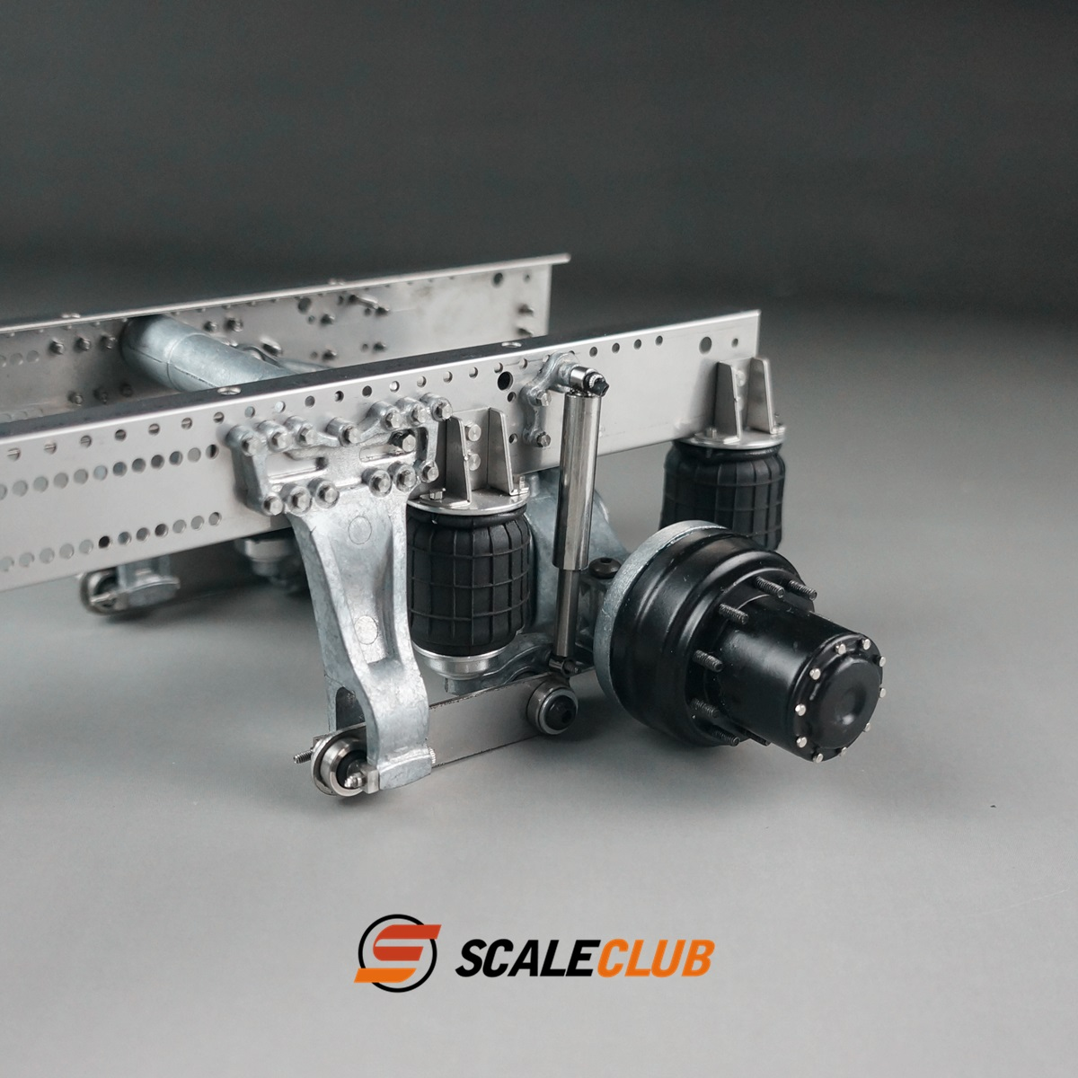 SCALECLUB  1/14 Universal  Rear axle single-axle airbag suspension system