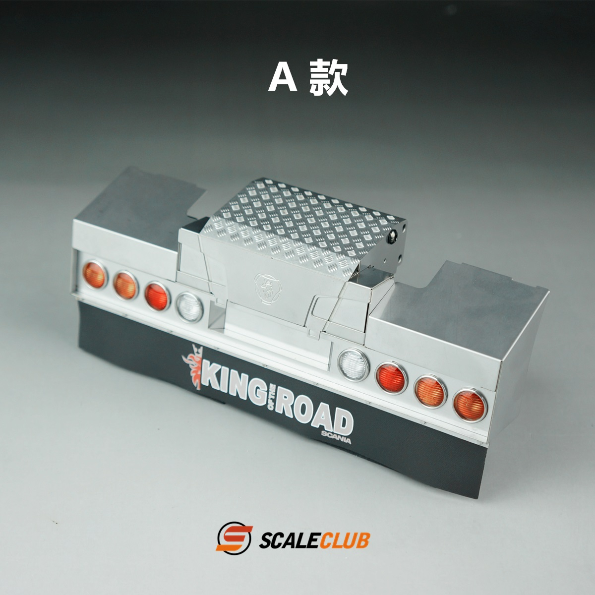 SCALECLUB  Scania  Metal tail beam with lamp
