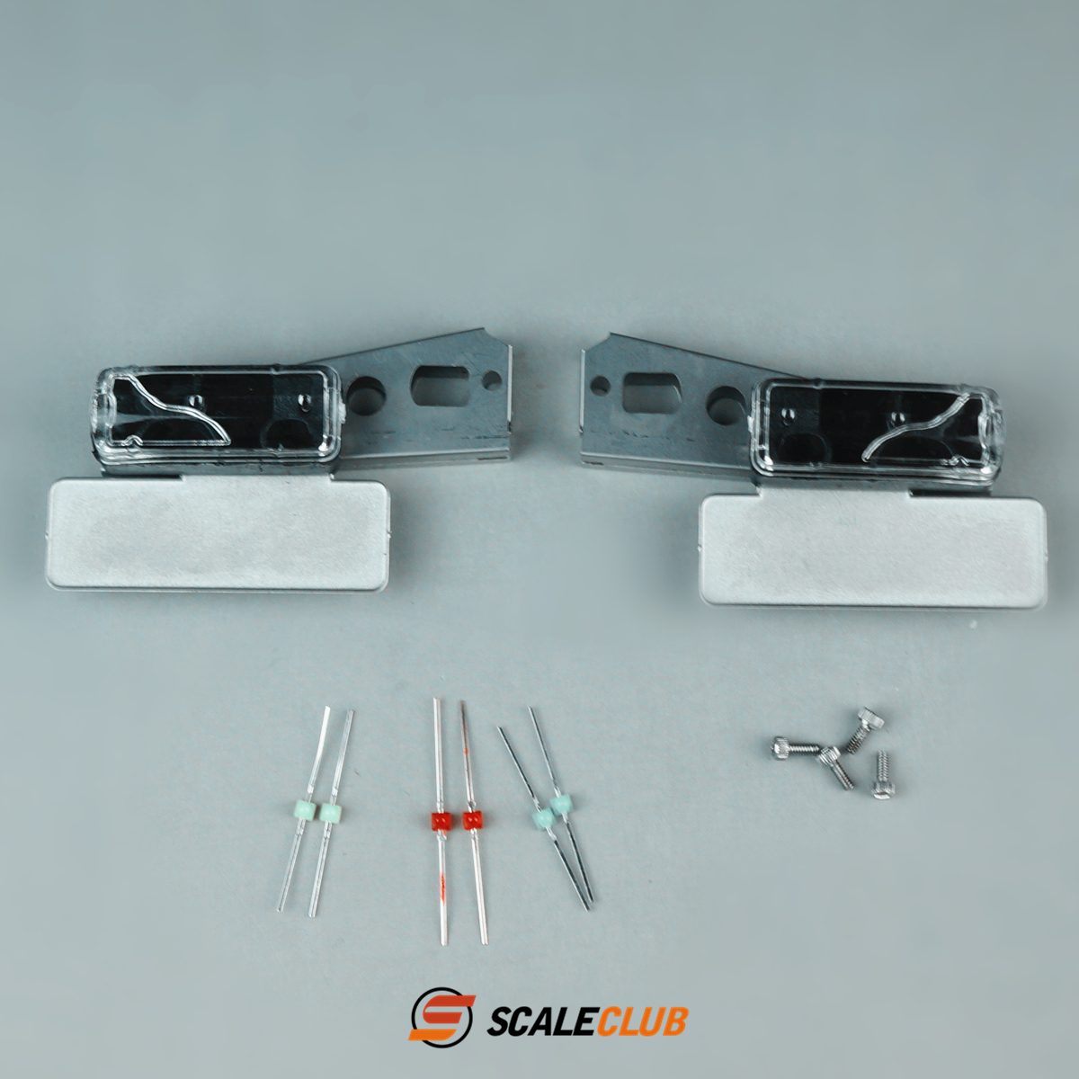 SCALECLUB  1/14 Universal  Universal taillights with brackets
