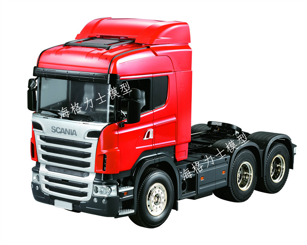 HERCULES MODEL 1:14 series scania triaxial middle head tractor