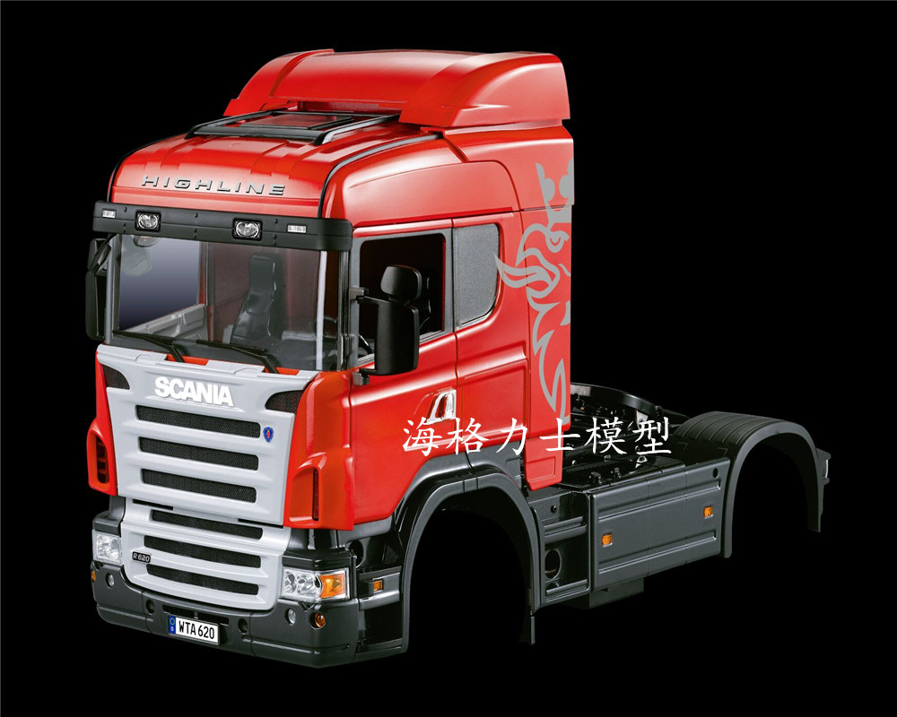 HERCULES MODEL 1:14 series scania 2-axis middle head tractor (car shell)